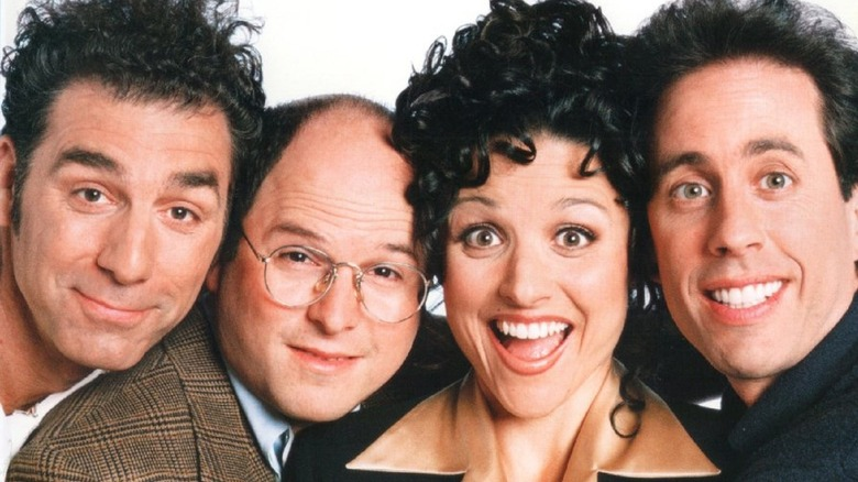 Seinfeld cast smiling