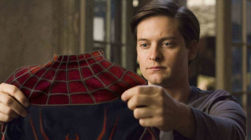 Tobey Maguire Spider-Man suit