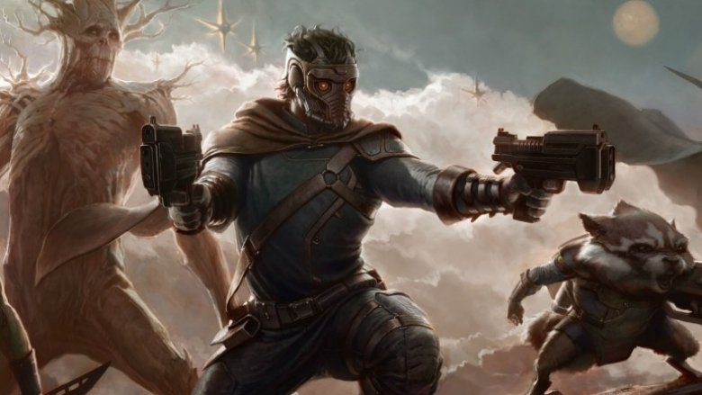 Guardians of the Galaxy concept art