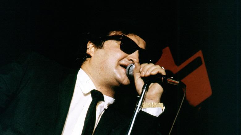 John Belushi performing as Jake Blues in 1980