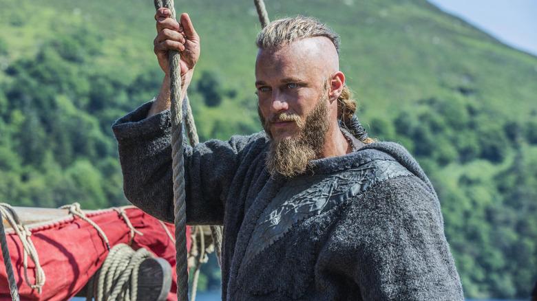 Travis Fimmel plays Ragnar Lothbrok in History's Vikings