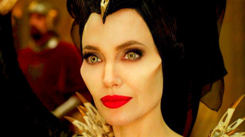 Maleficent at the ball