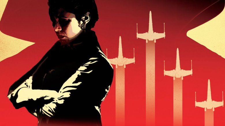 Princess Leia cover art for Star Wars: Bloodline
