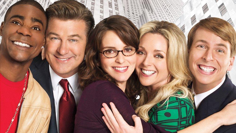 The cast of NBC's 30 Rock
