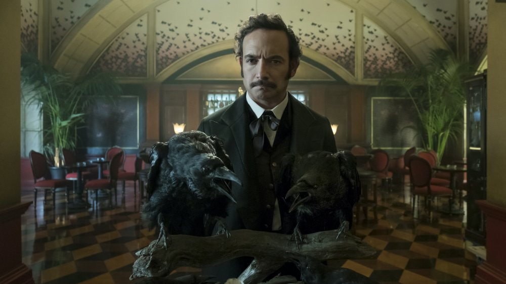 Chris Conner as Poe on Altered Carbon