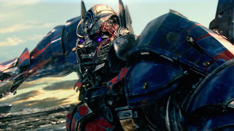 Optimus Prime in Transformers