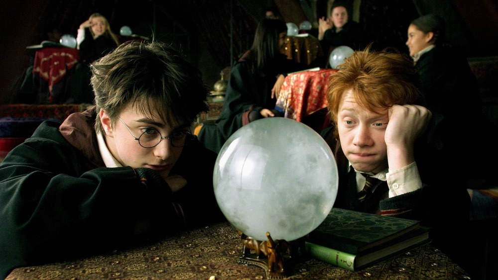 harry potter ron weasley crystal ball