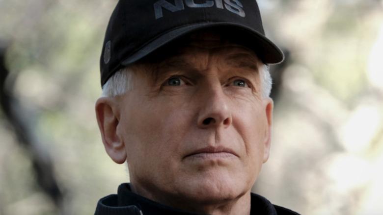 NCIS Mark Harmon in hat
