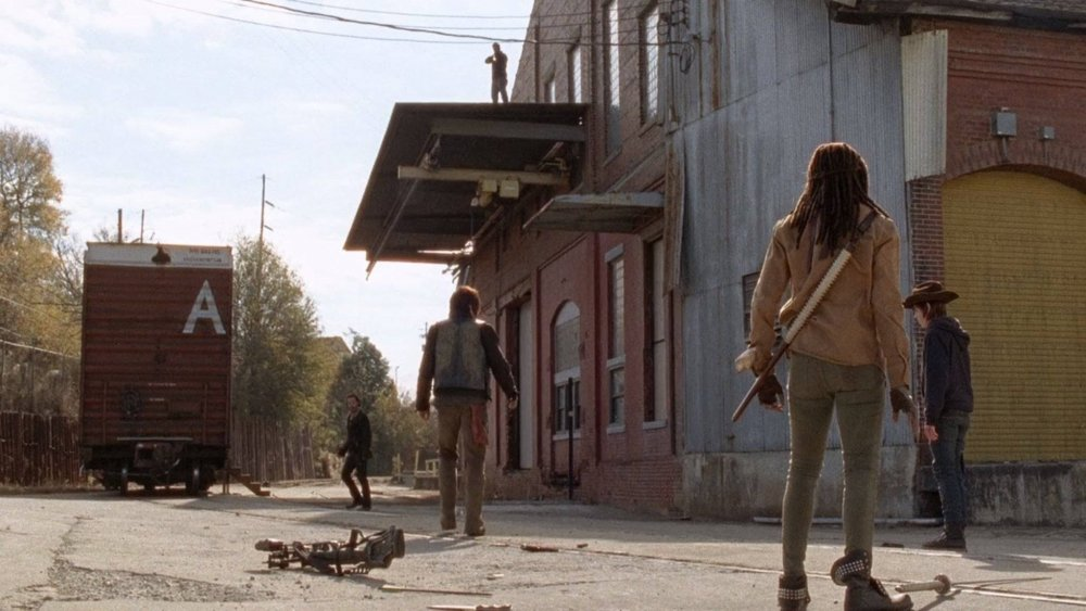 "The letter ""A"" pops up repeatedly throughout The Walking Dead series"