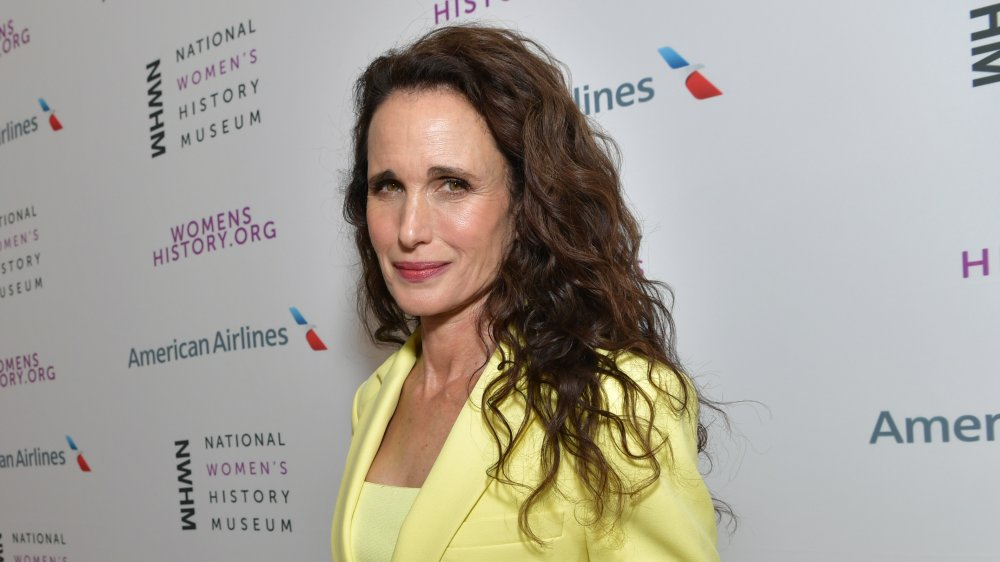 Actress and model Andie MacDowell