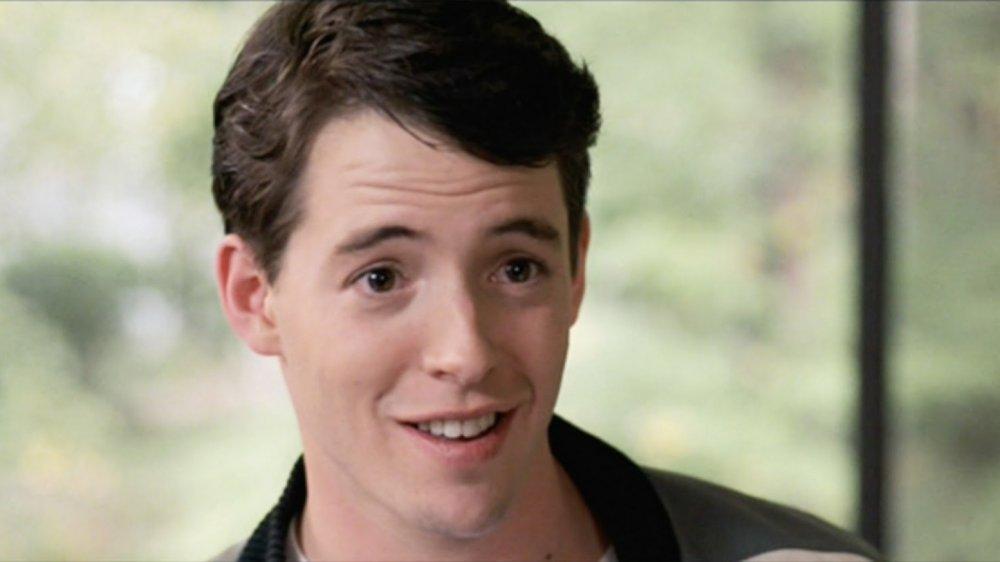 Matthew Broderick as Ferris Bueller in Ferris Bueller's Day Off