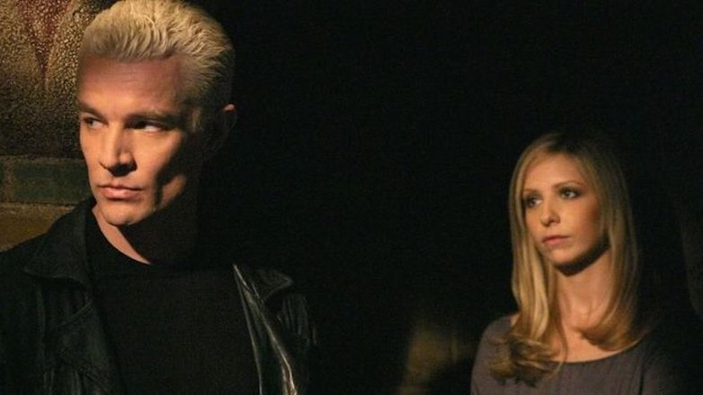 James Marsters as Spike in Buffy the Vampire Slayer