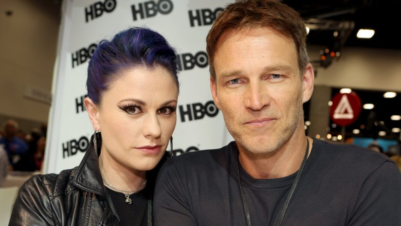 Anna Paquin and Stephen Moyer at Comic-Con