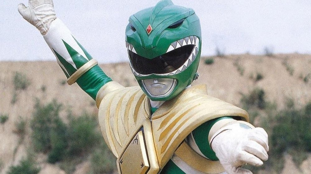 Jason David Frank as the Green Ranger