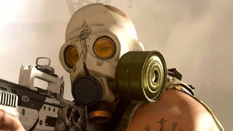 Operator gas mask