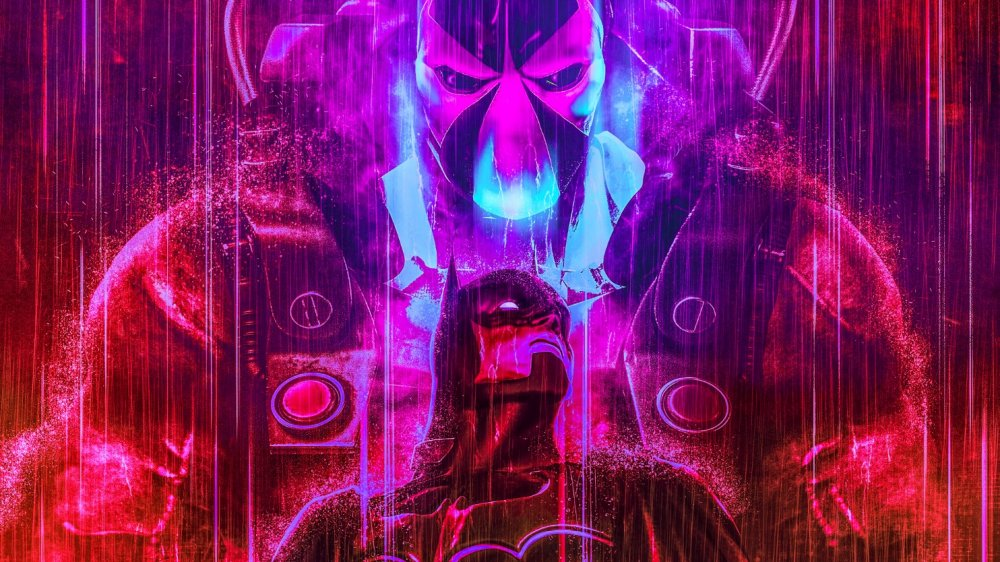 Batman and Bane art from BossLogic