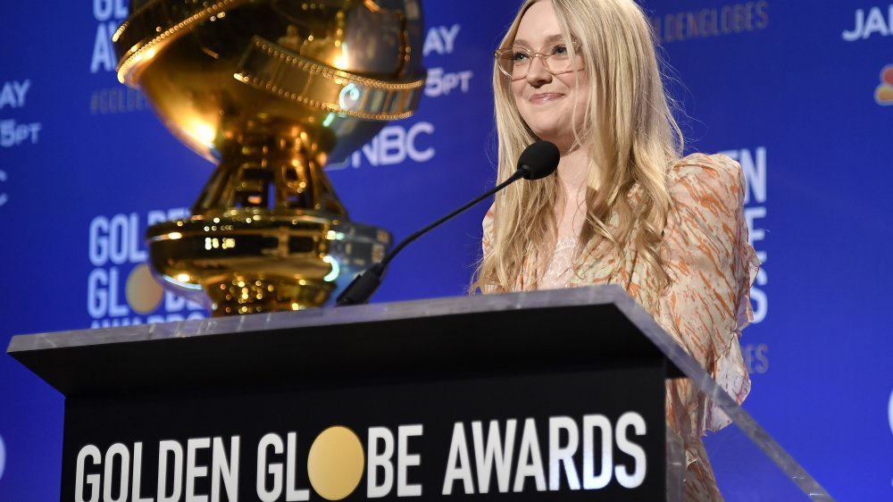 Dakota Johnson 2020 Golden Globe Awards conference