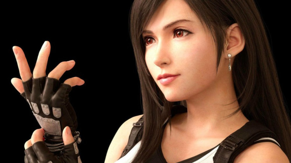 tifa's weapons