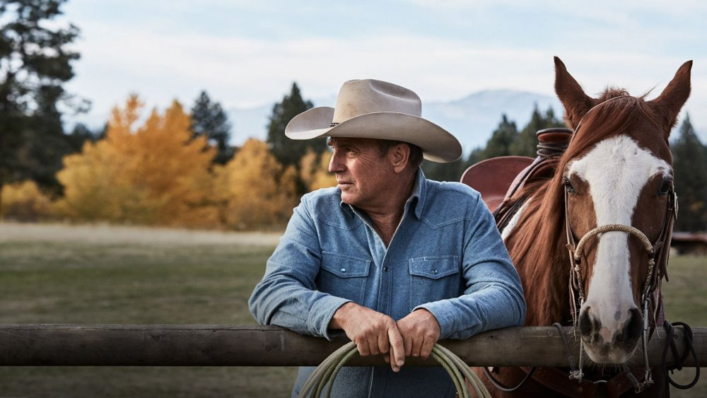 Kevin Costner as John Dutton on Yellowstone