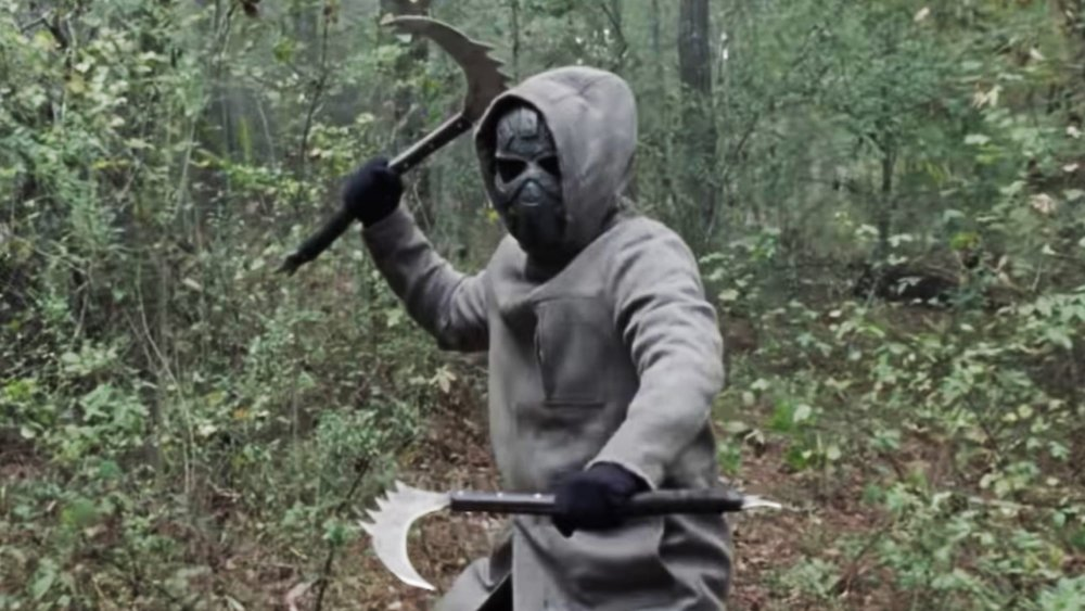 Iron Mask character on The Walking Dead season 10 finale