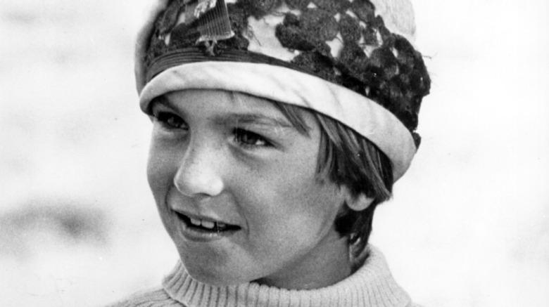 Young Tatum O'Neal smiling