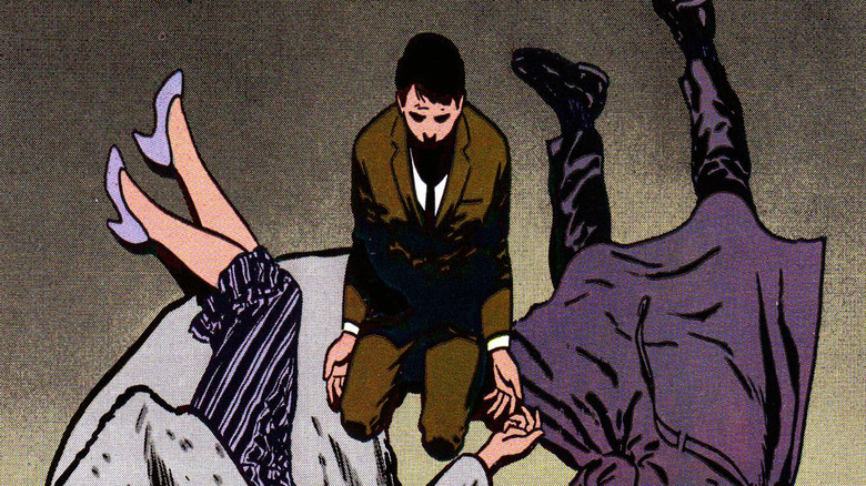 Batman's parents died when he was young.