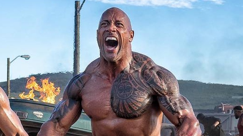 Who the Rock's social media diss was really targeted at