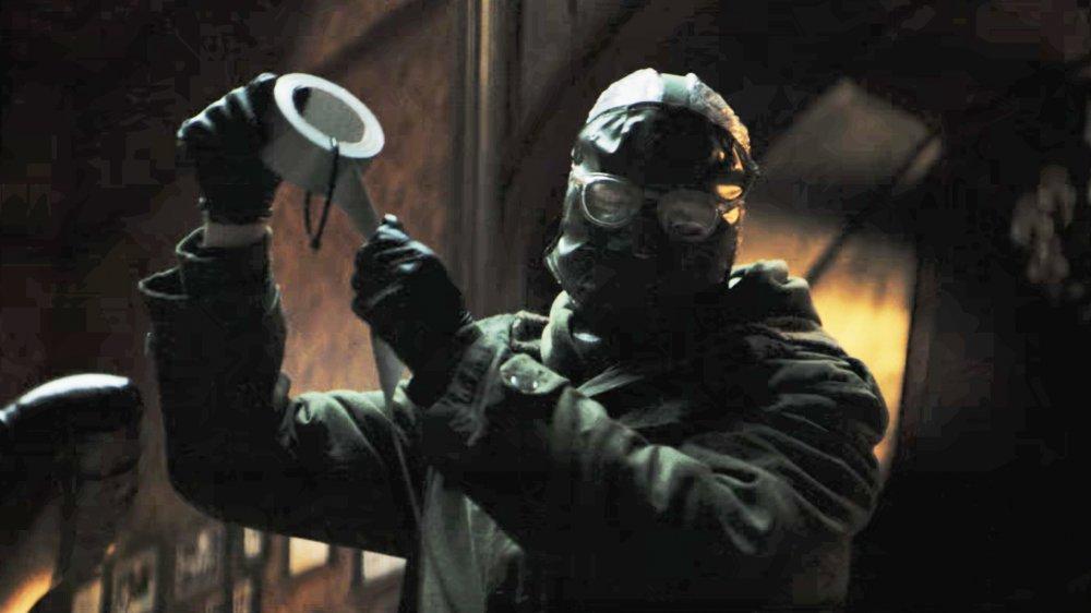 Paul Dano as The Riddler/Edward Nashton in The Batman