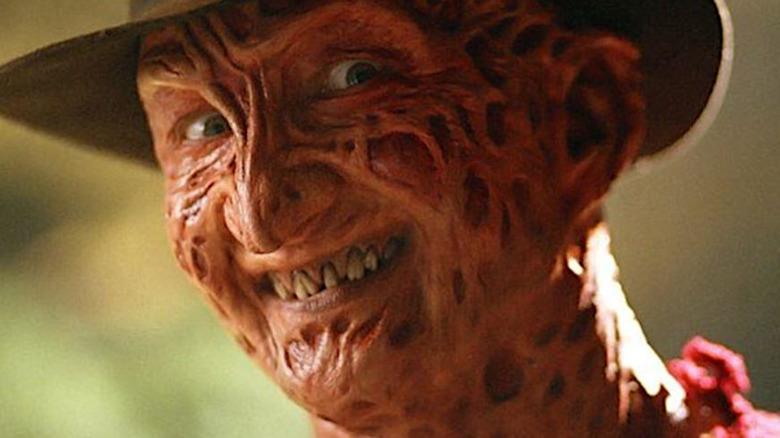 Robert Englund as Freddy Krueger in close-up