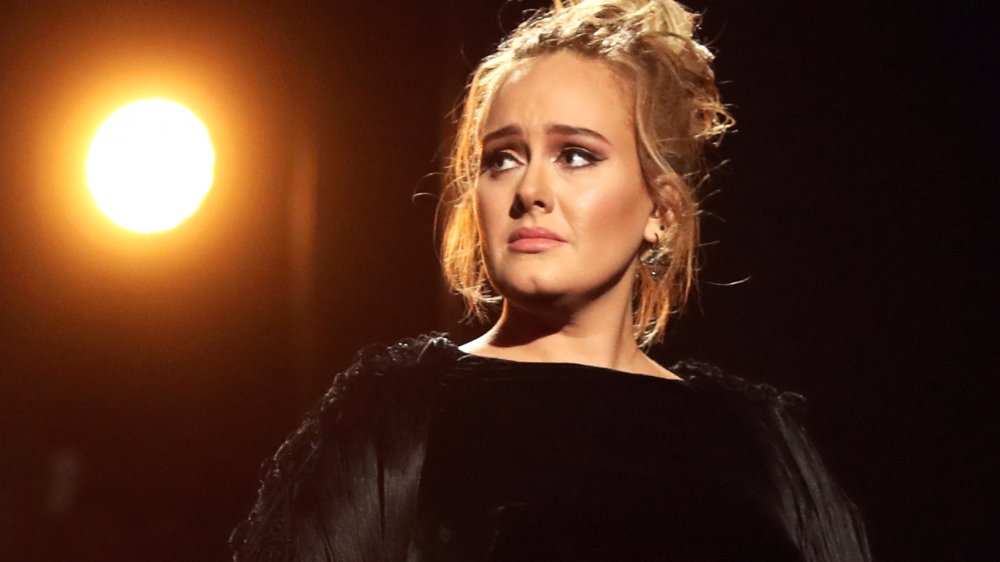 Adele performs as the musical guest on Saturday Night Live