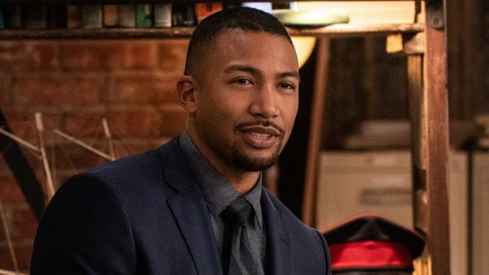 Charles Michael Davis as Agent Carter in NCIS: New Orleans