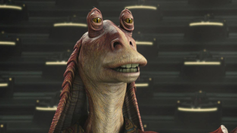 Jar Jar Binks in Revenge of the Sith