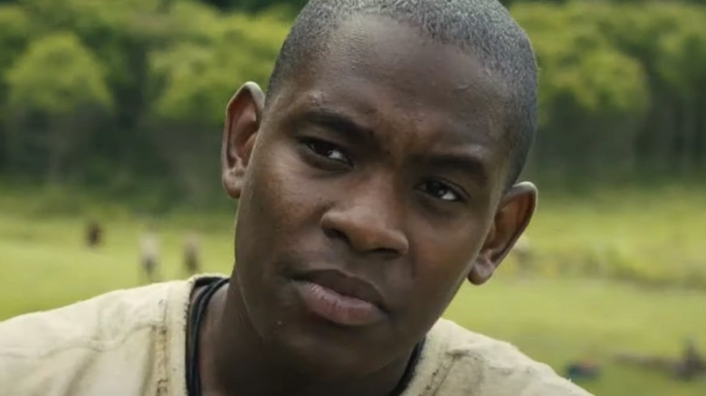 Aml Ameen as Alby in Glade