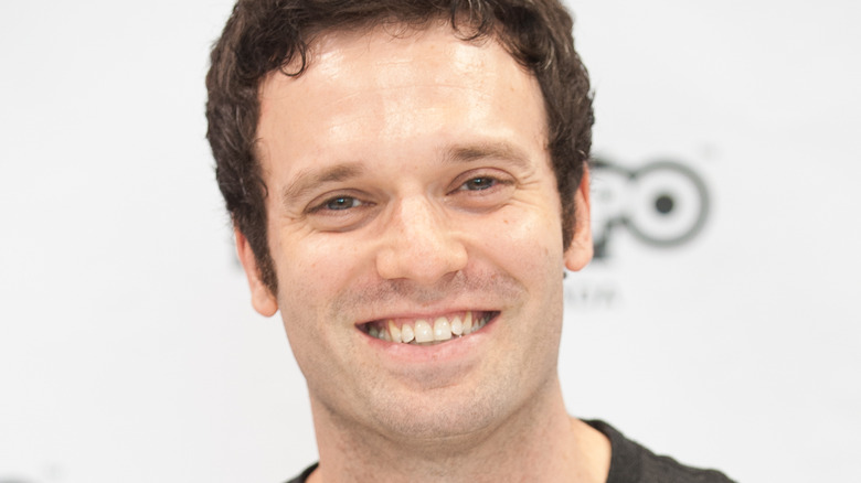 Jake Epstein smiling