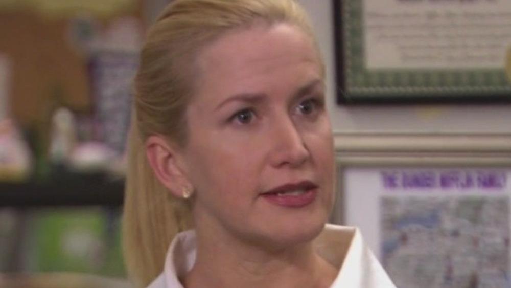 Angela Martin angry