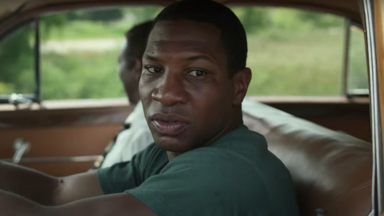 Jonathan Majors as Atticus on Lovecraft Country