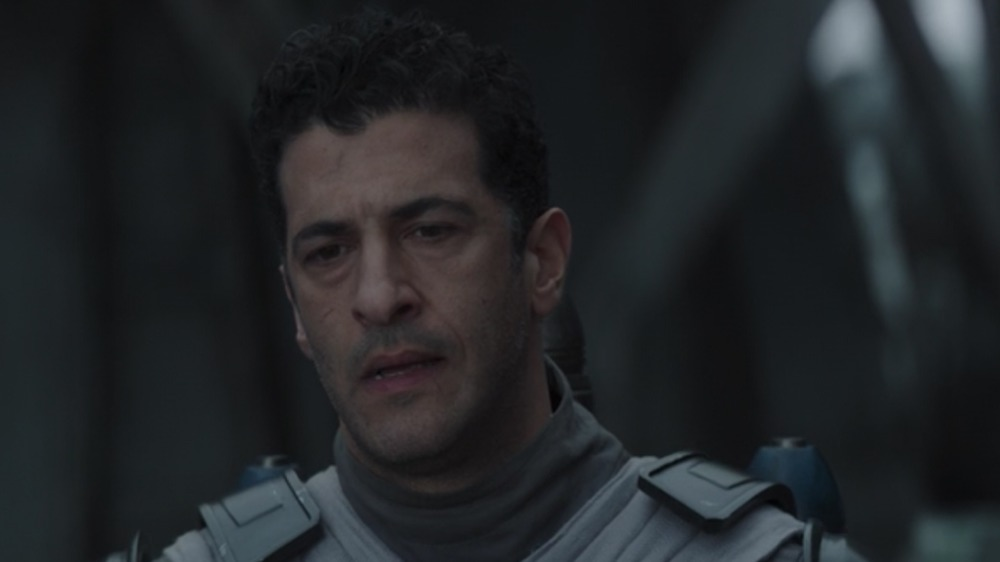 Simon Kassianides as Axe Woves on The Mandalorian