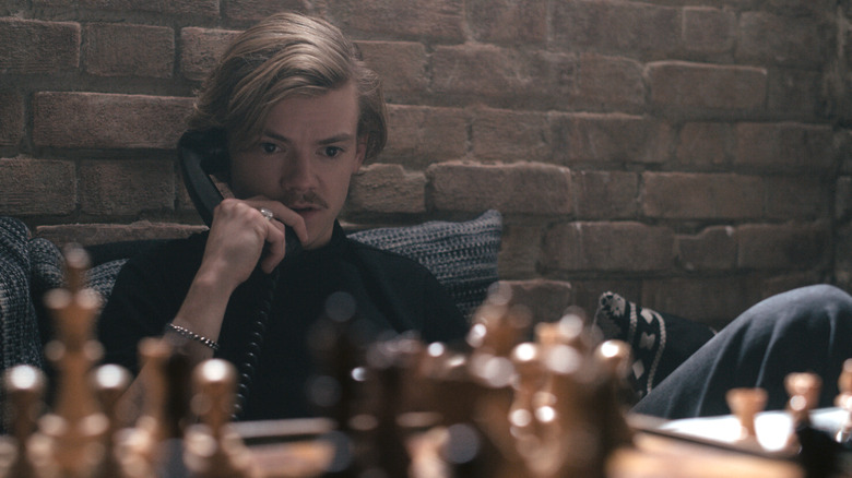 Thomas Brodie-Sangster as Benny Watts in The Queen's Gambit