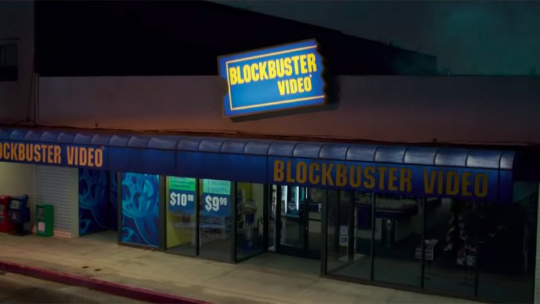 Danvers arrives in a Blockbuster