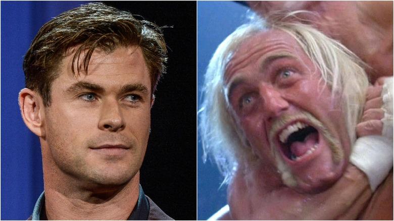 Chris Hemsworth and Hulk Hogan