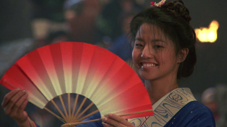Tamlyn Tomita as Kumiko in The Karate Kid Part II