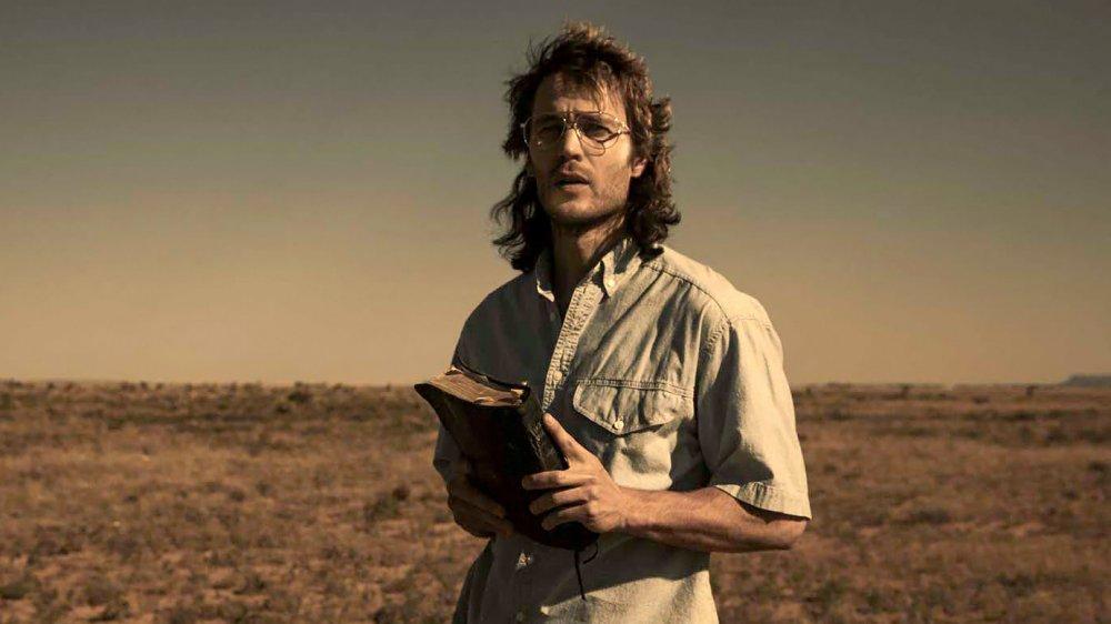 Taylor Kitsch as David Koresh in Waco