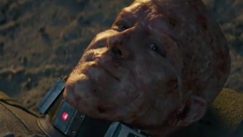 Wade Wilson dying in Deadpool 2