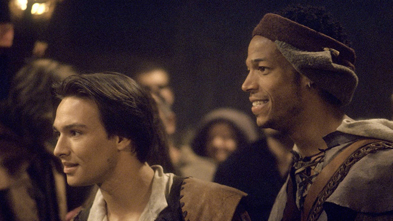 Justin Whalin and Marlon Wayans in Dungeons & Dragons