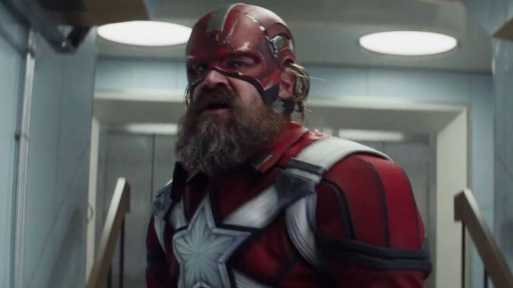 David Harbour as Red Guardian in Black Widow
