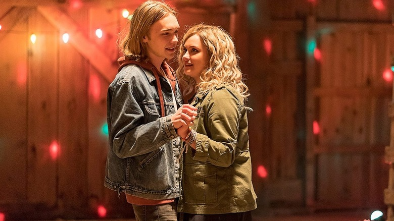 Charlie Plummer and Katherine Langford dance in Spontaneous