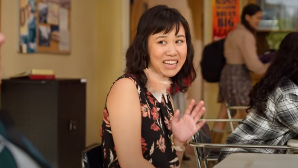 Ramona Young as Eleanor on Never Have I Ever