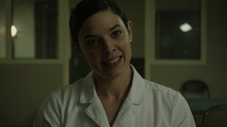Kate Cobb as Eliza in Into the Dark: The Current Occupant