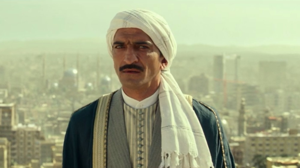 Amr Waked looks incredulous