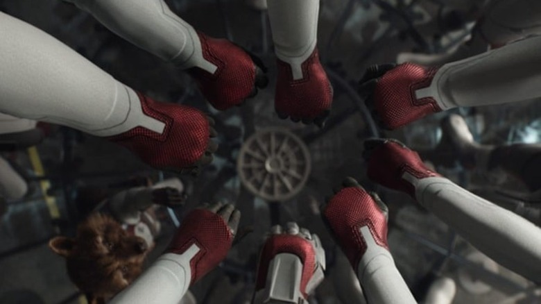 The team heads in the Quantum Realm